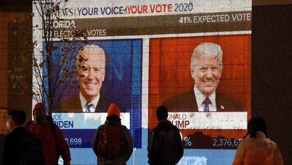 ABD - seçimler - başkanlık seçimleri - Trump - Biden - Sputnik Türkiye
