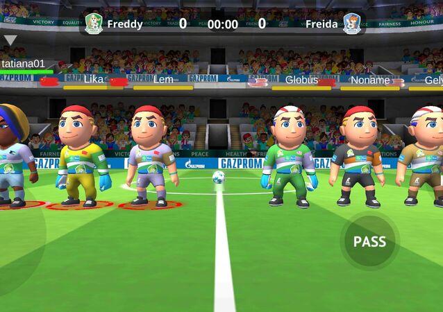 Dostluk için futbol programı