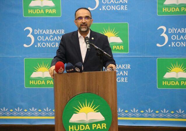HÜDA PAR Genel Başkanı İshak Sağlam