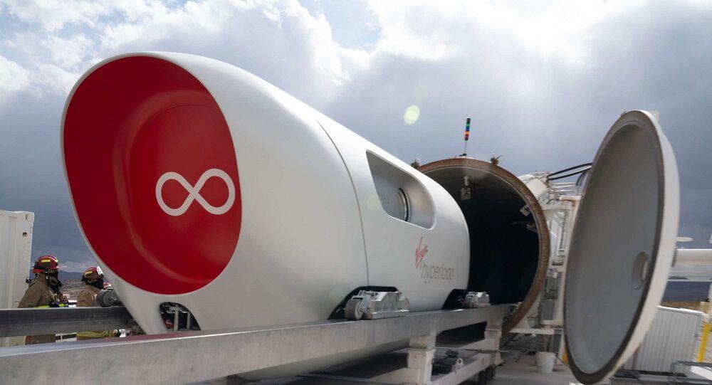 Virgin Hyperloop teknolojisi