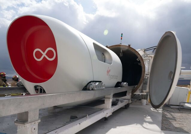 Virgin Hyperloop teknolojisi