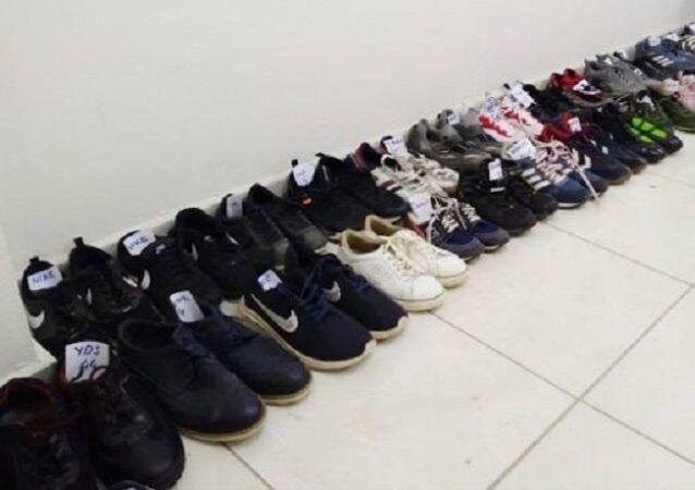 Manisa'da ayakkabı hırsızlığı