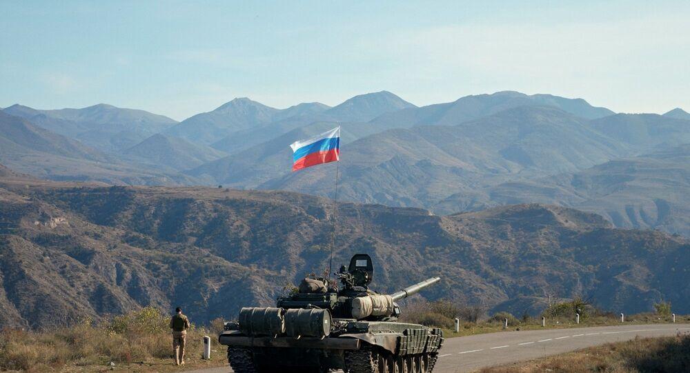 Rusya Barış Gücü  - Karabağ