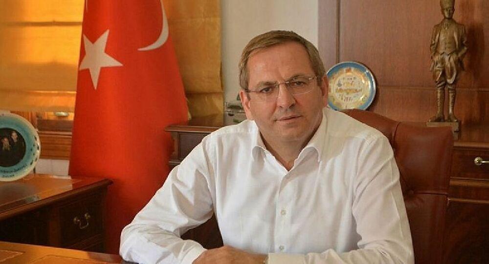 Ayvalık ilçesinin Belediye Başkanı Mesut Ergin