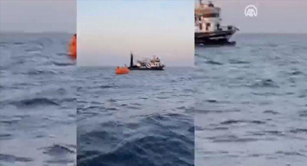 Akdeniz - Yunan tankeri - Türk balıkçı teknesi - çarpışma