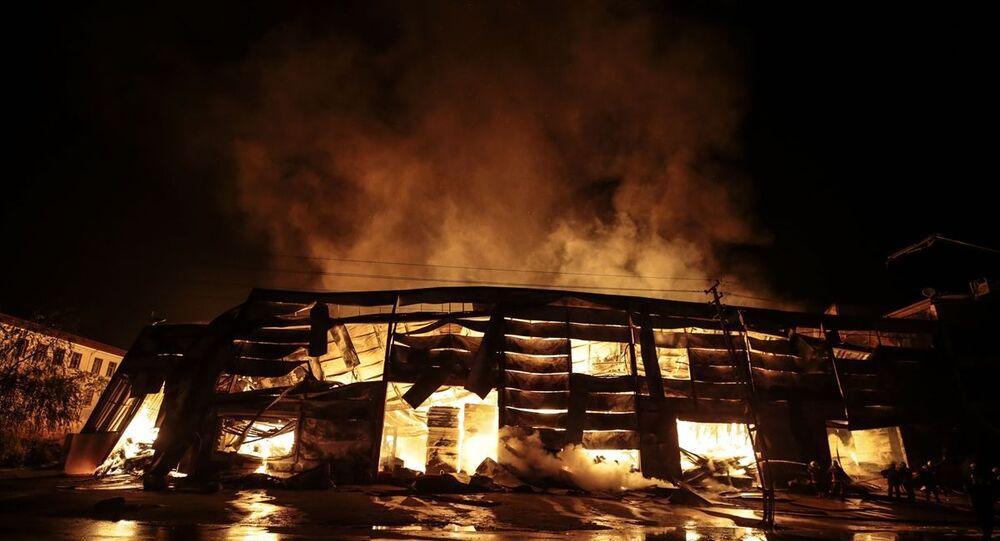 Ankara, yangın, kereste fabrikası