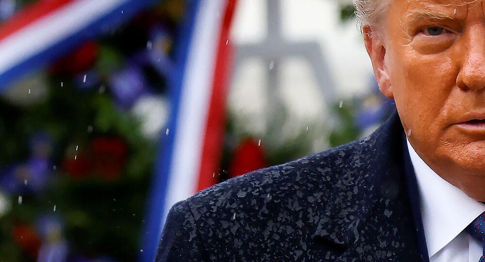 ABD'nin mevcut Başkanı Donald Trump, 11 Kasım Gaziler Günü nedeniyle Virginia eyaletindeki Arlington Ulusal Mezarlığını ziyaret etti.