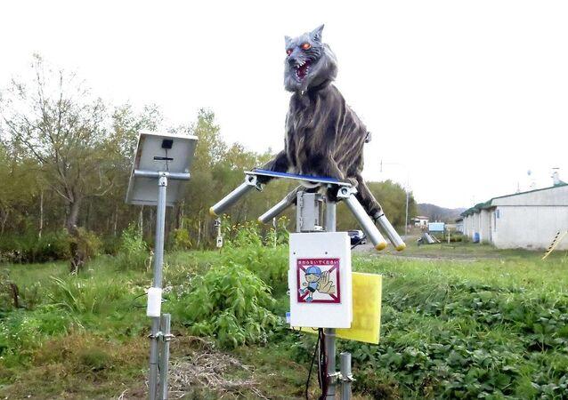 Canavar kurt robot