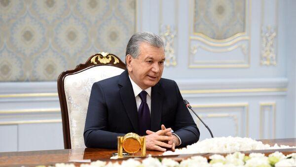 Özbekistan Cumhurbaşkanı Şevket Mirziyoyev - Sputnik Türkiye