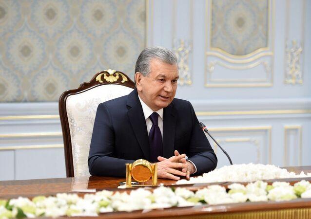 Özbekistan Cumhurbaşkanı Şevket Mirziyoyev