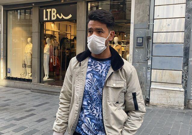 Taksim'de sigara yasağı denetimi