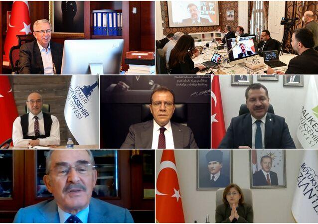 Ankara Kent Konseyi, Büyükşehir Kent Konseyleri Toplantısı'na ev sahipliği yaptı. Video konferans yöntemiyle gerçekleştirilen 'Deprem Farkındalığı ve Kriz Yönetimi' konulu toplantıda 7 büyükşehir belediye başkanı bir araya geldi.