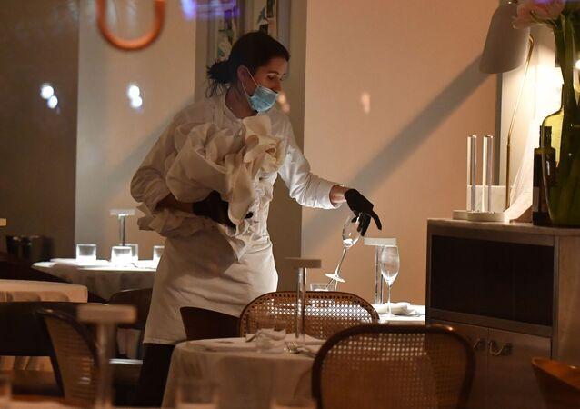 koronavirüs, restoran, Moskova, Rusya