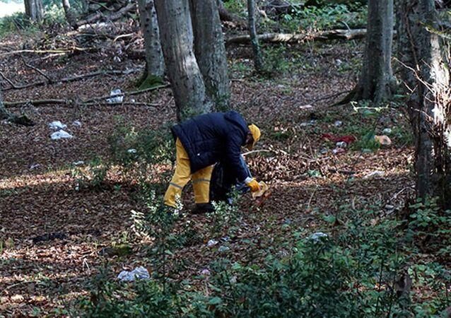 Belgrad Ormanı- Çöp