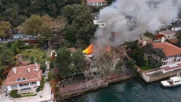 Vaniköy Camisi'nde yangın - Sputnik Türkiye