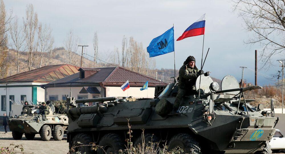 Dağlık Karabağ'da Rus barış gücü