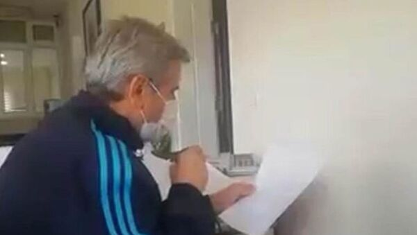 Denizli'de AK Partili Acıpayam Belediye BaşkanıHulisi Şevkan - Sputnik Türkiye