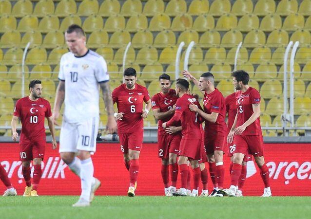 Türkiye'nin A Milli Futbol Takımı, UEFA Uluslar B Ligi 3. Grup'taki 5. maçında Ülker Stadı'nda Rusya ile karşılaştı.