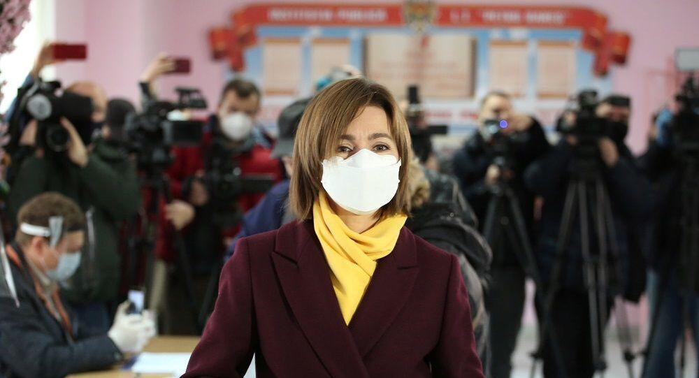 Moldova Cumhurbaşkanı Maia Sandu