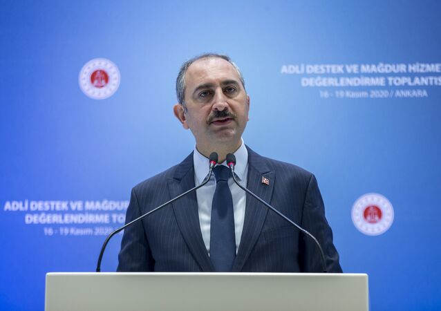 Bakan Gül, bir otelde düzenlenen Adli Destek ve Mağdur Hizmetleri Değerlendirme Toplantısı'nda konuştu.