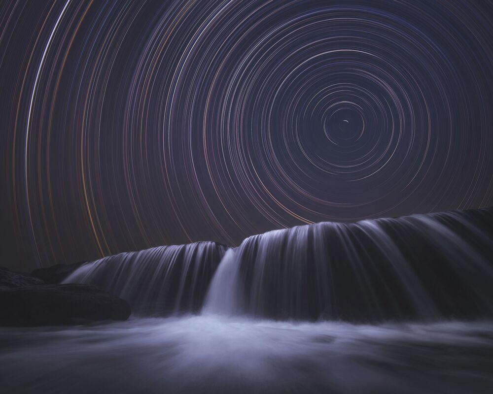 Uluslararası 2020 Yılı Manzara Fotoğrafçısı Yarışması'nın Gece Gökyüzü kategorisinde birincilik kazanan Hintli fotoğrafçı Himadri Bhuyan'ın çalışması
