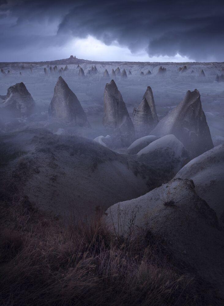 Kapadokya manzarasıyla Uluslararası 2020 Yılı Manzara Fotoğrafçısı Yarışması'nın (ILPOTY 2020) ilk 101 çalışması listesine giren Türk fotoğrafçı Aytek Çetin'in çalışması