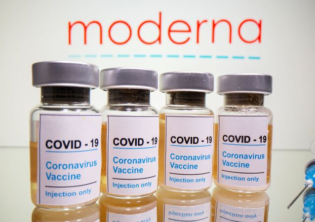 Moderna isimli ABD'li biyoteknoloji şirketinin geliştirdiği Kovid-19 aşı adayı