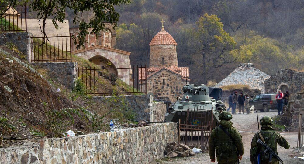Rus barış güçleri - Karabağ