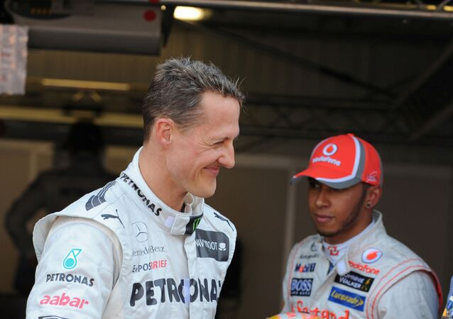 Michael Schumacher, Lewis Hamilton, Monaco Grand Prix 2012