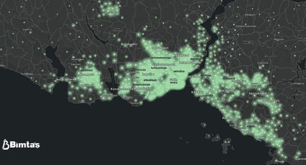 İstanbul'un korona kırılganlık haritası