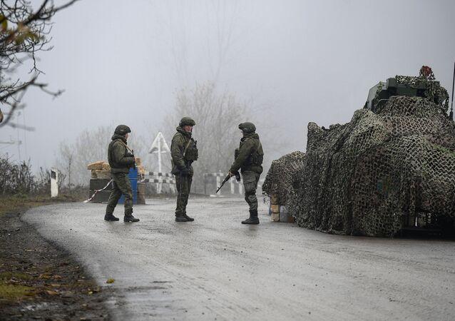Rusya Savunma Bakanlığı'ndan yapılan açıklamada Laçin koridorundaki Zabuh-Lısogorsk-Zarıslı karayolu boyunca 7 gözlem noktasının bulunduğu,  barış gücü operasyonunun Stepanakert'e kurulan Rus barış gücü karargahından yönetildiği belirtildi