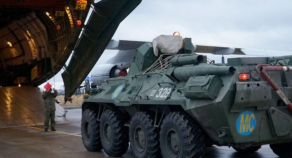 Dağlık Karabağ - barış gücü - Rusya