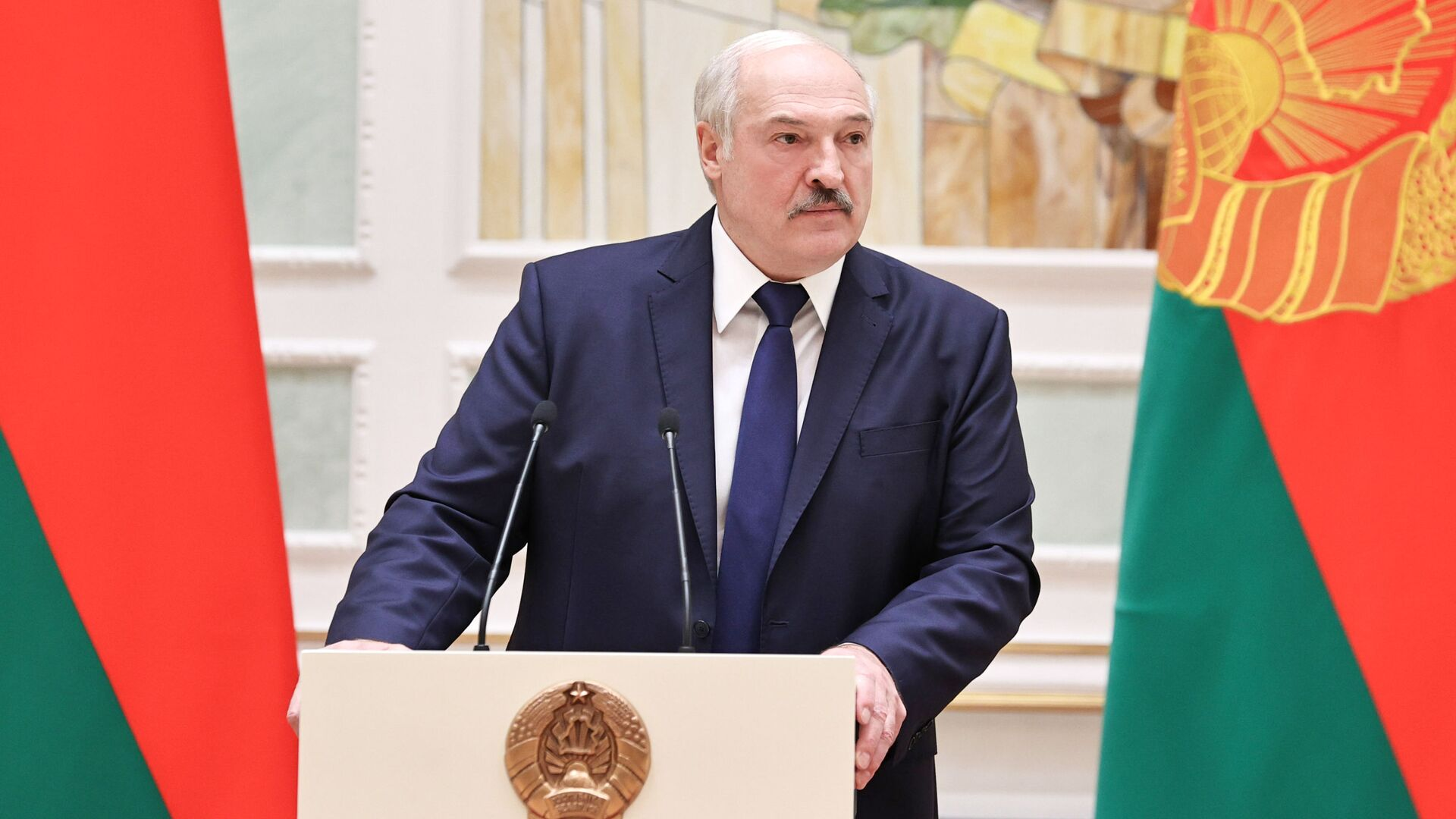 Belarus Devlet Başkanı Aleksandr Lukaşenko - Sputnik Türkiye, 1920, 20.08.2021