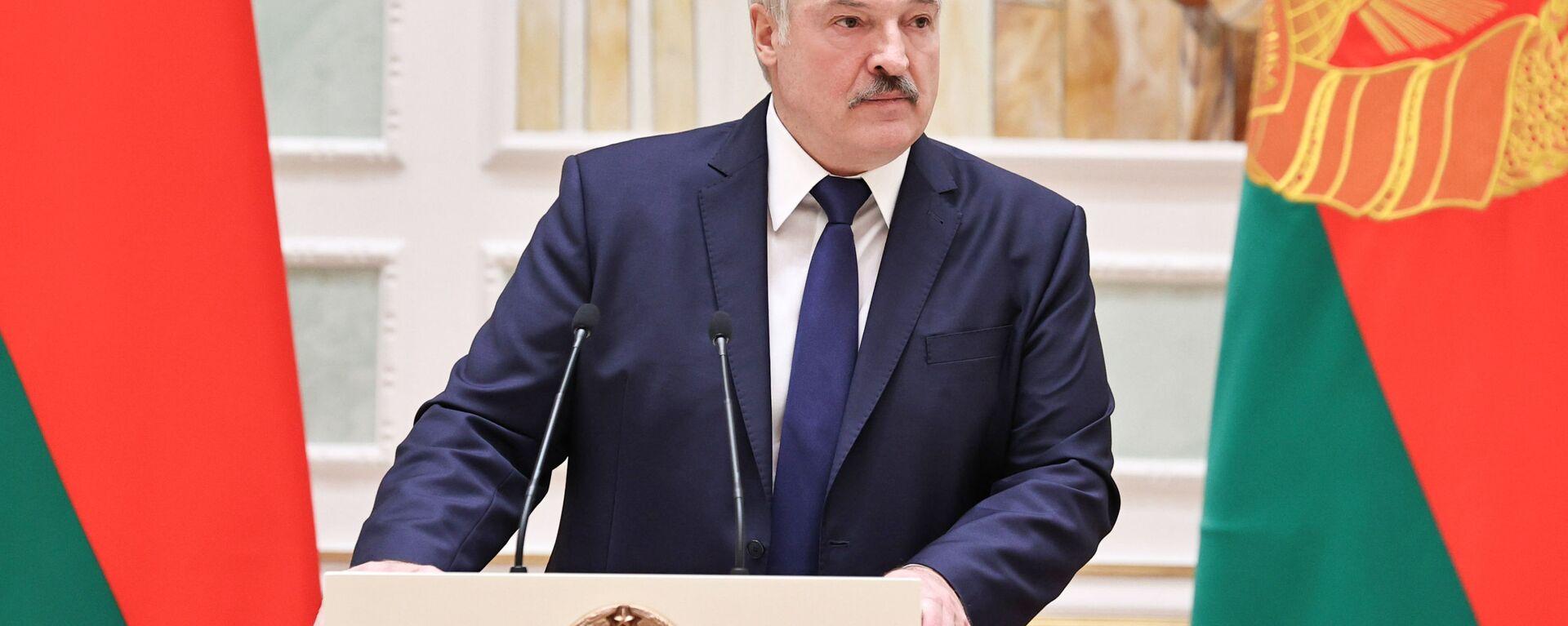 Belarus Devlet Başkanı Aleksandr Lukaşenko - Sputnik Türkiye, 1920, 19.04.2021
