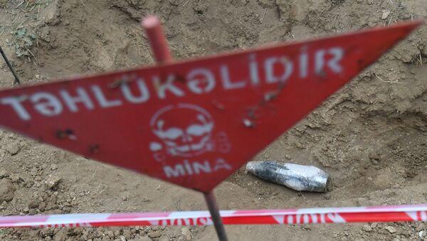 Karabağ - Fuzuli - mayın temizleme - Sputnik Türkiye