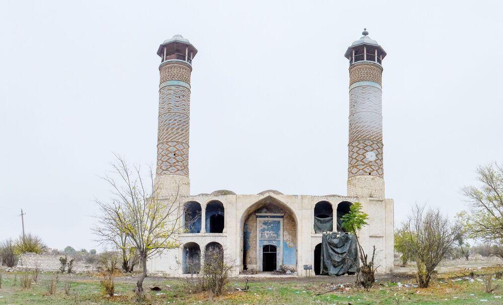 Ağdam şehrindeki Cuma Camisi