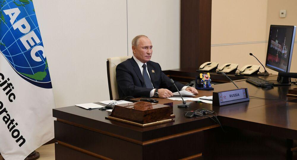 Rusya Devlet Başkanı Vladimir Putin-APEC zirvesi