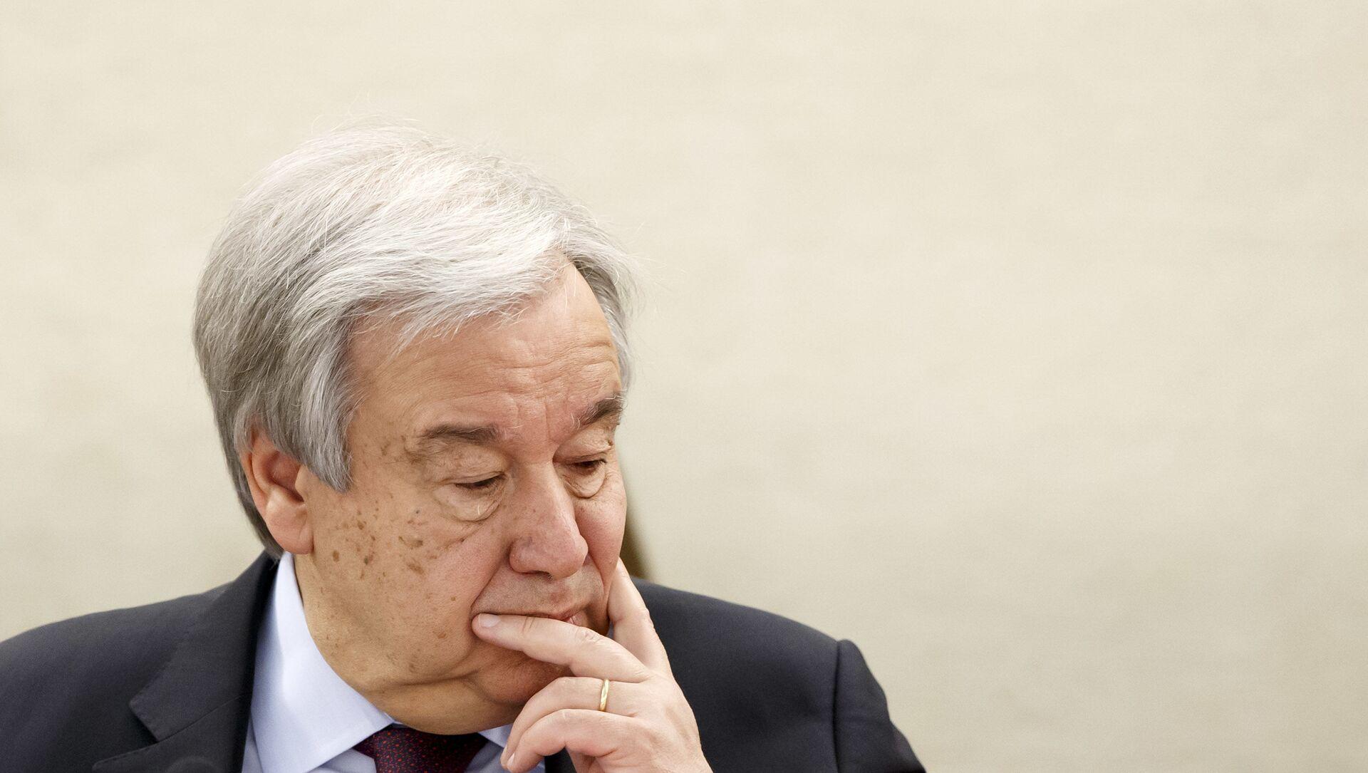 Birleşmiş Milletler (BM) Genel Sekreteri Antonio Guterres - Sputnik Türkiye, 1920, 19.04.2021