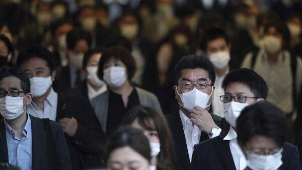 Japonya'da koronavirüs - Sputnik Türkiye