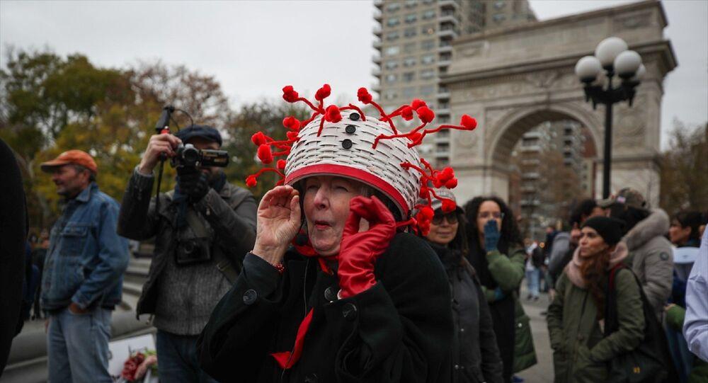 protesto - ABD  - koronavirüs