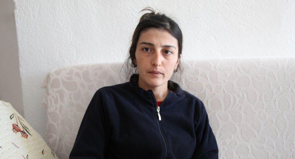 Nevşehir'in Ürgüp ilçesinde dini nikahlı eşi tarafından el bombası ile öldürülmeye teşebbüs edilen 26 yaşındaki Hacer Çelik