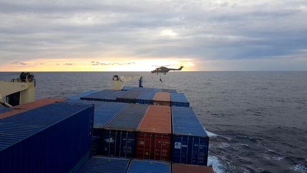 Türk gemisinde arama - Sputnik Türkiye