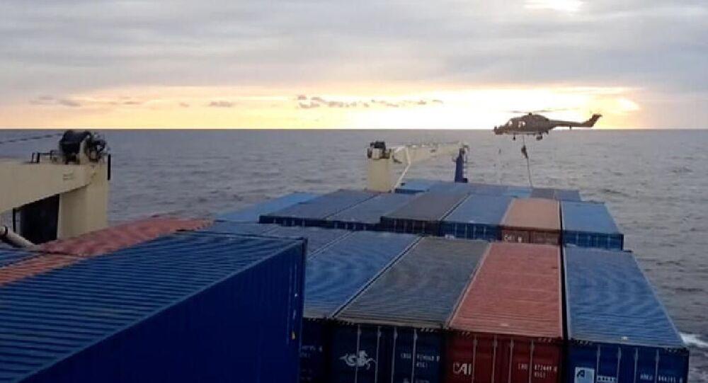İrini Operasyonu, Türk gemisine yönelik denetim