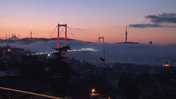 İstanbul Boğazı'nda sis etkili oluyor - Sputnik Türkiye
