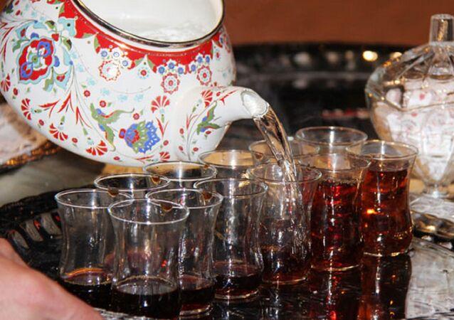 Çay - çay içmek - çay bardağı