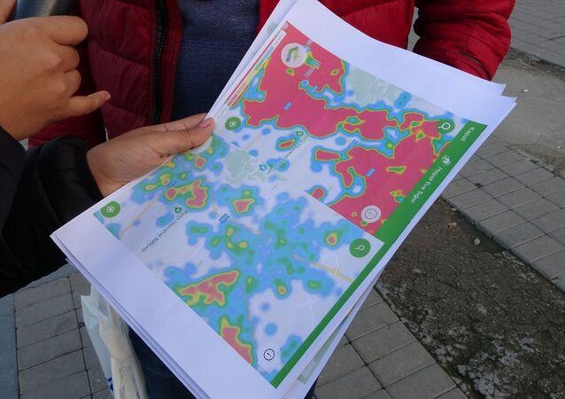 Bursa - koronavirüs hartiası