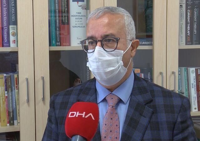 Cerrahpaşa Tıp Fakültesi Enfeksiyon Hastalıkları Anabilim Dalı Başkanı Prof. Dr. Fehmi Tabak