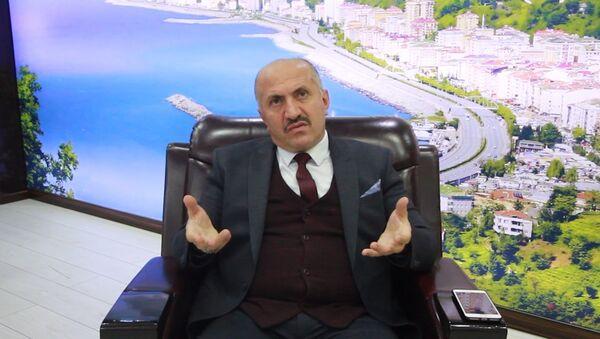 Rize'nin Çayeli ilçesinin MHP'li Belediye Başkanı İsmail Hakkı Çiftçi - Sputnik Türkiye