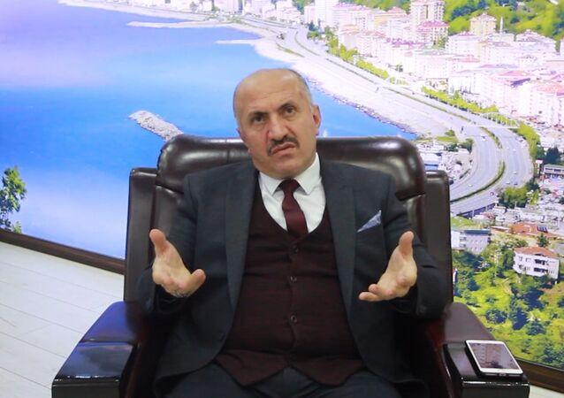 Rize'nin Çayeli ilçesinin MHP'li Belediye Başkanı İsmail Hakkı Çiftçi