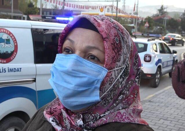 Karantinada olması gerekirken toplu taşıma aracında tespit edilen kadın